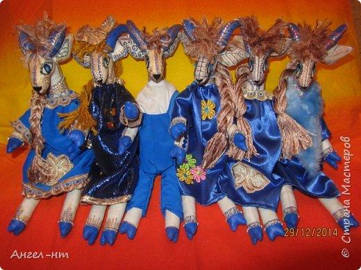 Вот такие милые козочки-модницы получились к новому году. Спасибо за мастер-класс Елена - вот ссылка- http://www.liveinternet.ru/users/4625447/post325216139/ Я немного добавила своих идей - строго не судите.