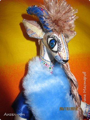 Вот такие милые козочки-модницы получились к новому году. Спасибо за мастер-класс Елена - вот ссылка- http://www.liveinternet.ru/users/4625447/post325216139/ Я немного добавила своих идей - строго не судите.  фото 10