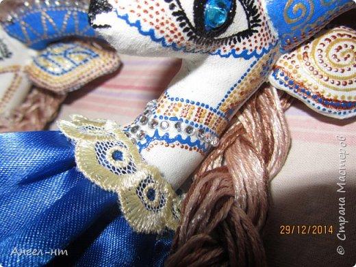 Вот такие милые козочки-модницы получились к новому году. Спасибо за мастер-класс Елена - вот ссылка- http://www.liveinternet.ru/users/4625447/post325216139/ Я немного добавила своих идей - строго не судите.  фото 11