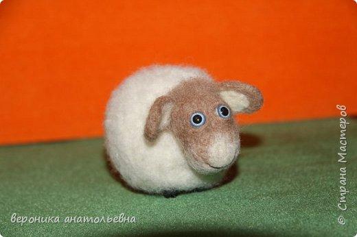 Ну вот и моя овечка спешит в отару 2015 года...