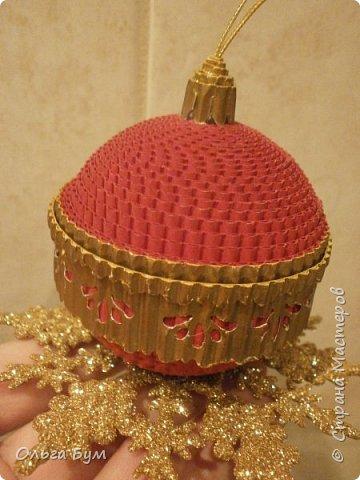 Радужный комплект ёлка + шар делала ещё на 2014 год, дооформила ... на 2015! Встреча-проводы получились.  фото 22