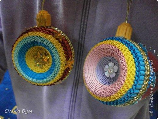 Радужный комплект ёлка + шар делала ещё на 2014 год, дооформила ... на 2015! Встреча-проводы получились.  фото 28