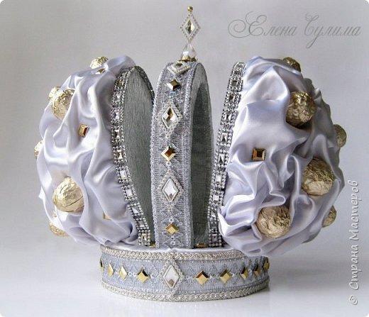 Свит-дизайн 23 февраля День рождения Алмазная корона для Петра I фото 1