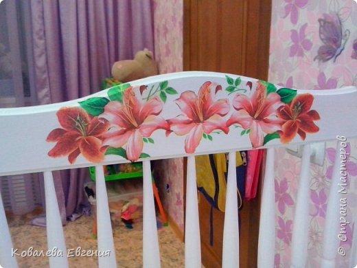 Реставрация детской кроватки  фото 2