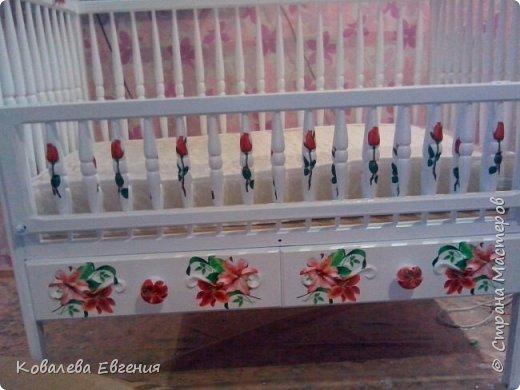 Реставрация детской кроватки  фото 1