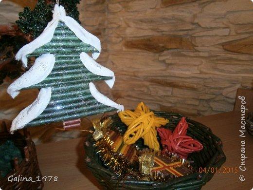 Поздравляю всех с Новым годом и Рождеством ! Вот наплелось чуть-чуть после большого перерыва ...  Эти две коробки в подарок моим сестричкам фото 16