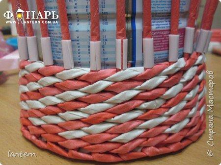 Мастер-класс Материалы и инструменты Новый год Плетение Полезные советы вставка ленты Бумага газетная фото 4