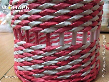 Мастер-класс Материалы и инструменты Новый год Плетение Полезные советы вставка ленты Бумага газетная фото 5