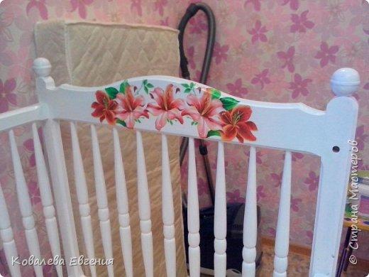 Реставрация детской кроватки  фото 3