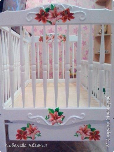 Реставрация детской кроватки  фото 4