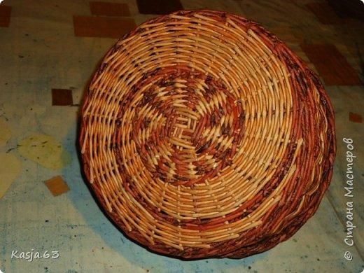 Попытка плетения рядами. фото 3