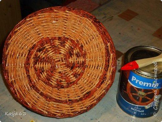 Попытка плетения рядами. фото 4
