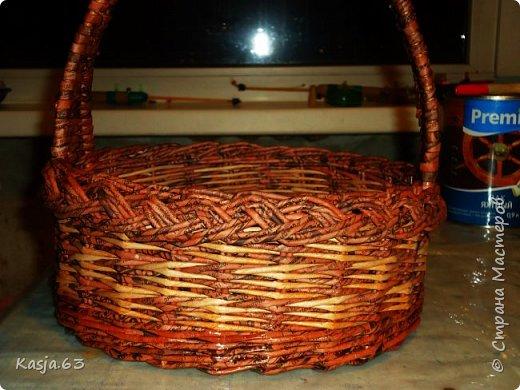 Попытка плетения рядами. фото 5