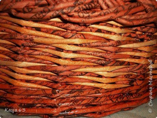 Попытка плетения рядами. фото 6