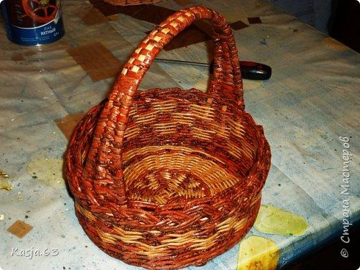 Попытка плетения рядами. фото 7