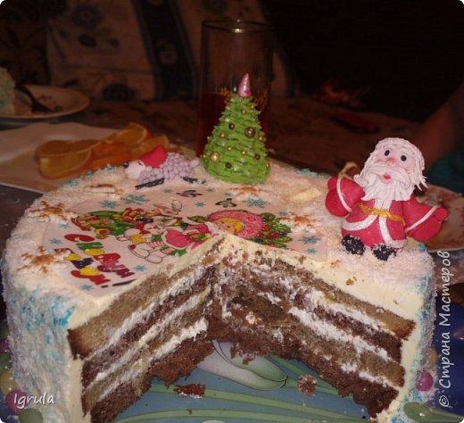 """Всем доброго времени суток. Хочу поделиться с вами своими декабрьскими тортиками. Это, так сказать, вторая половина декабря, точнее последние три дня)))  Итак тортик """"Хом- кредит"""", вес 2,8 кг. Выполнен в корпоративных цветах. Внутри шоколадные бисквиты, сливочный крем """"крем-брюле"""", прослойка из апельсинового джема с цедрой и кусочками апельсина, коньячная пропитка. фото 13"""