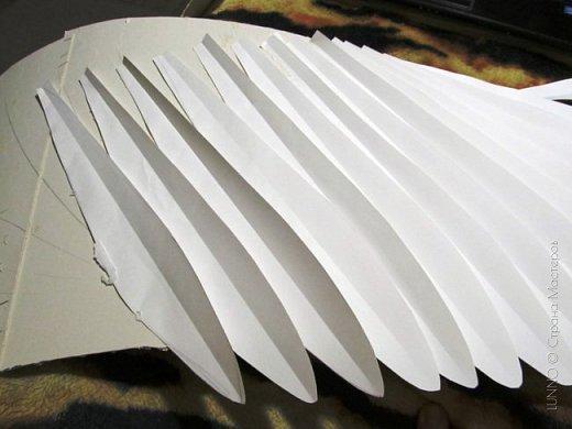 Мастер-класс Поделка изделие Валентинов день Новый год Бумагопластика «Крылья ангела» Бумага Клей фото 8