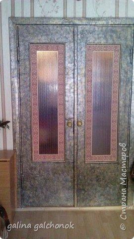 Мастер-класс Переделка дверей мастер класс Салфетки фото 1
