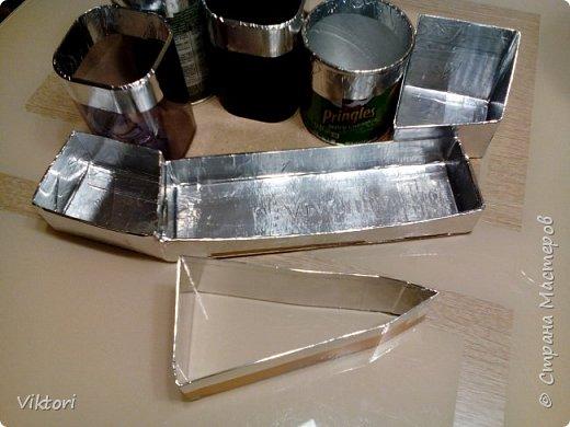 Макет модель Мастер-класс Новый год Картонаж Органайзер для дочки Картон Клей Коробки фото 5