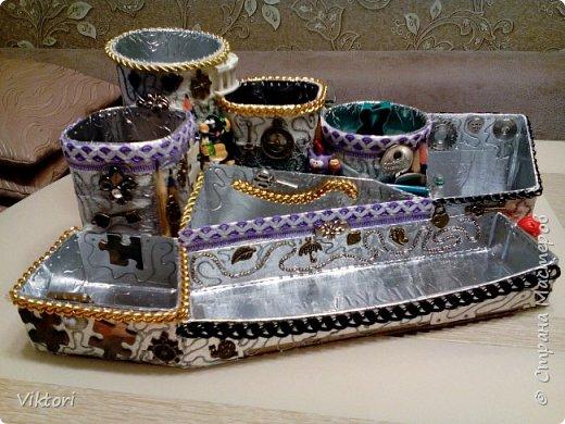Макет модель Мастер-класс Новый год Картонаж Органайзер для дочки Картон Клей Коробки фото 11