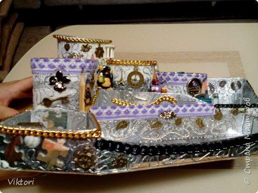 Макет модель Мастер-класс Новый год Картонаж Органайзер для дочки Картон Клей Коробки фото 14