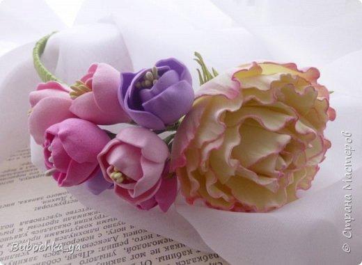 Такая пионовидная роза родилась вчера ночью)) Она станет призом для конкурсантов! фото 4