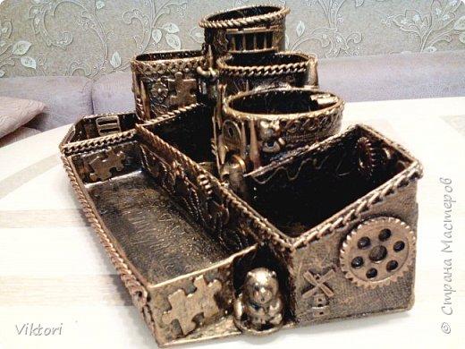 Макет модель Мастер-класс Новый год Картонаж Органайзер для дочки Картон Клей Коробки фото 23