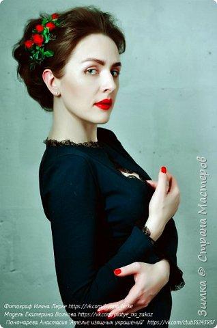 Фотограф : Иляна Лерке Модель Екатерина Волкова Веточка была создана специально для съёмки в стиле гламур , подарена модели фото 1