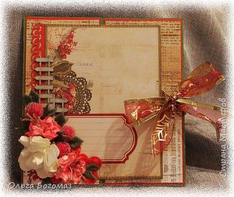 Добрый день!Вот мои новогодние открытки!Лучше поздно,чем никогда!))))Прошу прощение за цвет-фотографировала при искусственном освещении. фото 6