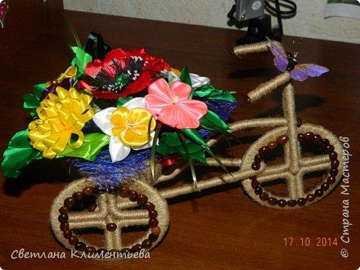 Велосипед делала по вот этому МК https://stranamasterov.ru/node/505344?c=favorite фото 1
