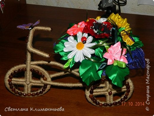 Велосипед делала по вот этому МК https://stranamasterov.ru/node/505344?c=favorite фото 2