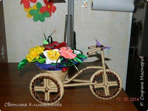 Велосипед делала по вот этому МК https://stranamasterov.ru/node/505344?c=favorite фото 3