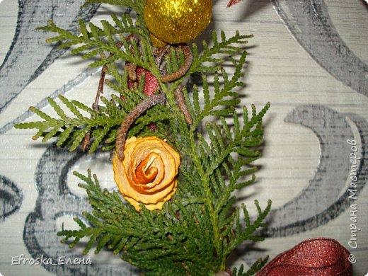 Рада приветствовать вас, дорогие мастера! С Новым годом! С Рождеством Христовым! Здоровья всем вам и благополучия! Счастья и покоя вам и вашим семьям! Я сегодня с немногими сувенирами, которые успела сделать к новому году. Кое что из задуманного так и осталось задуманным... все время сел очень поздний предновогодний заказ. фото 10
