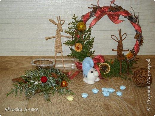 Рада приветствовать вас, дорогие мастера! С Новым годом! С Рождеством Христовым! Здоровья всем вам и благополучия! Счастья и покоя вам и вашим семьям! Я сегодня с немногими сувенирами, которые успела сделать к новому году. Кое что из задуманного так и осталось задуманным... все время сел очень поздний предновогодний заказ. фото 1