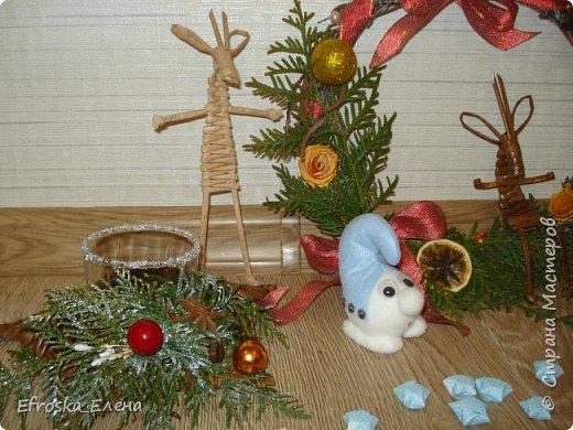 Рада приветствовать вас, дорогие мастера! С Новым годом! С Рождеством Христовым! Здоровья всем вам и благополучия! Счастья и покоя вам и вашим семьям! Я сегодня с немногими сувенирами, которые успела сделать к новому году. Кое что из задуманного так и осталось задуманным... все время сел очень поздний предновогодний заказ. фото 3