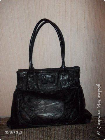 Следующую сумку мне заказала мама. Она принесла мне свою старую сумку и давно забытый жилет. фото 1