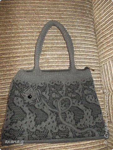 Следующую сумку мне заказала мама. Она принесла мне свою старую сумку и давно забытый жилет. фото 2