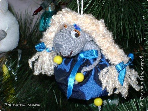 Козочки  и овечки  - елочные игрушки фото 1