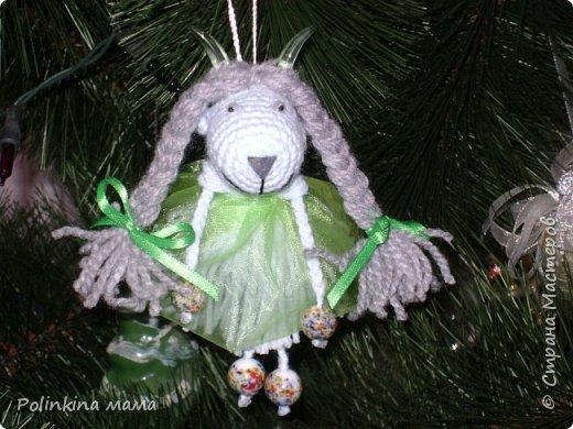 Козочки  и овечки  - елочные игрушки фото 9