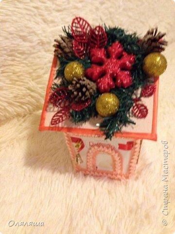 Вот такие подарочки дарила родственникам..)) Конечно же домик с рафаэлло. фото 3