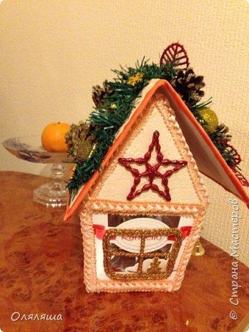Вот такие подарочки дарила родственникам..)) Конечно же домик с рафаэлло. фото 1