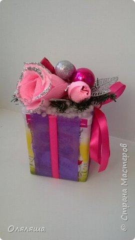 Вот такие подарочки дарила родственникам..)) Конечно же домик с рафаэлло. фото 5