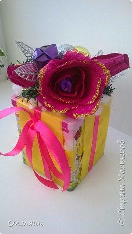 Вот такие подарочки дарила родственникам..)) Конечно же домик с рафаэлло. фото 4