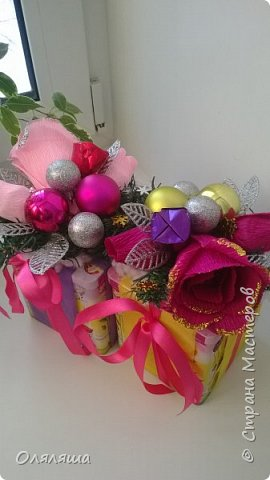 Вот такие подарочки дарила родственникам..)) Конечно же домик с рафаэлло. фото 6