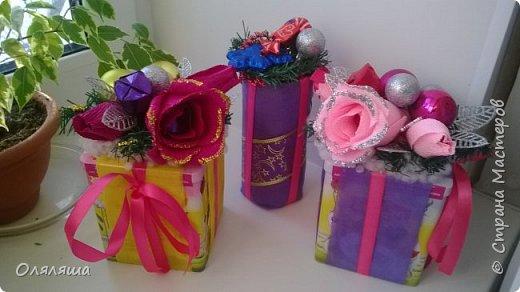 Вот такие подарочки дарила родственникам..)) Конечно же домик с рафаэлло. фото 9