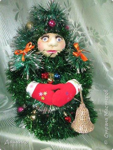 Дедушку Мороза и Снегурочку сделала на Новый год. фото 2