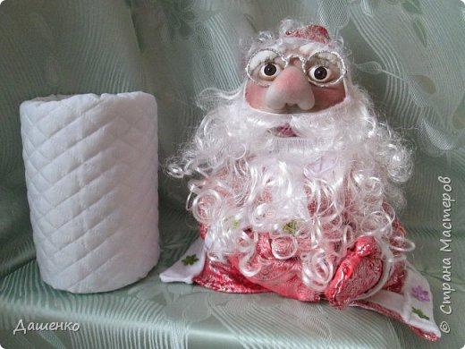 Дедушку Мороза и Снегурочку сделала на Новый год. фото 4