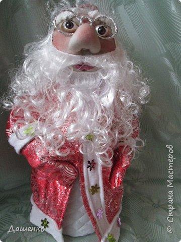 Дедушку Мороза и Снегурочку сделала на Новый год. фото 3