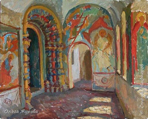 Галерея в церкви