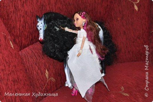 Привет! Я хочу показать наряд Белой Королевы из Алисы в стране чудес. Он состоит из кофты и юбки. фото 4